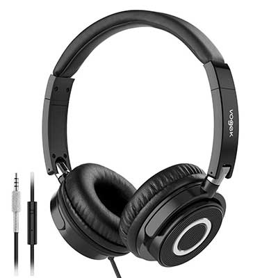 On Ear Headphones with Mic
