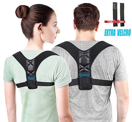 Comezy Back Posture Corrector for Women & Men
