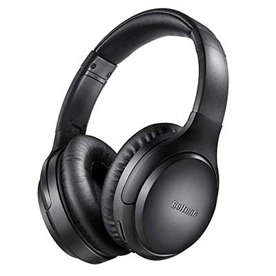 Active Noise Cancelling Headphones Boltune Bluetooth