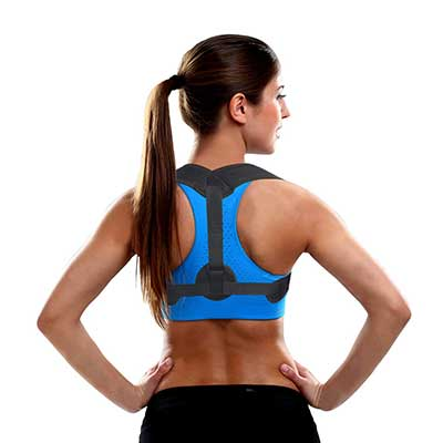 Posture Corrector for Men and Women by Mesaki