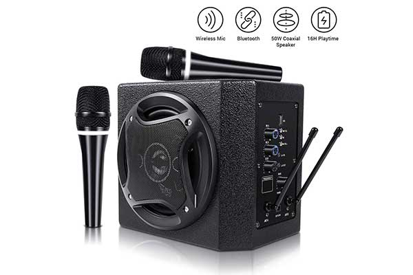 Top 10 Best Karaoke Machines in 2020 Reviews