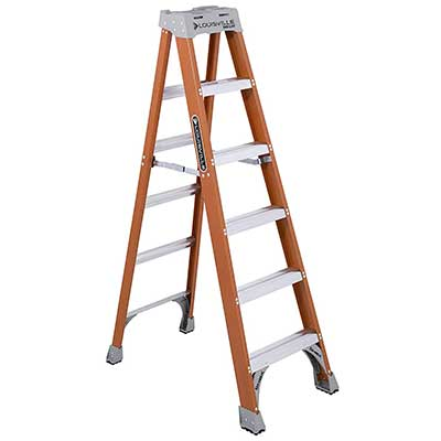 Louisville Ladder 6-Foot Fiberglass Ladder