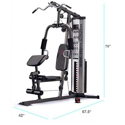 Marcy Multifunctional Steel Home Gym
