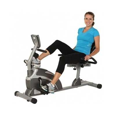 Exerpeutic 1000 Magnetic Hig Capacity Recumbent Exercise Bike