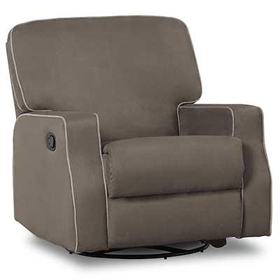 Delta Children Caleb Nursery Recliner Glider Chair