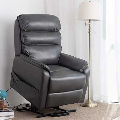 Irene House (Dual Motor) Lays Flat Electric Lift Recliner