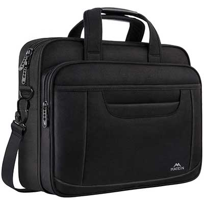 MATEIN 15.6 Inch Laptop Bag Business Office Briefcase