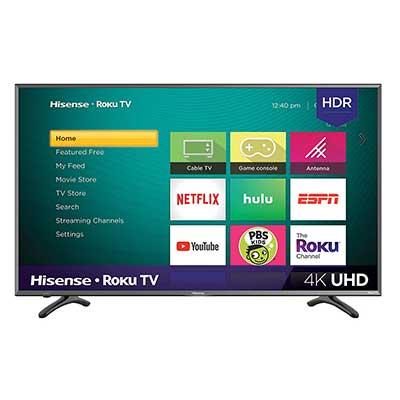 Hisense 43RFE 43-Inch 4K Ultra HD Roku Smart LED TV