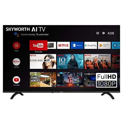 """SKYWORTH E20300 40"""" 1080P led A53 Quad Core Android Smart TV"""