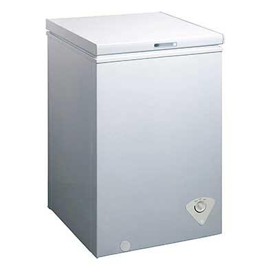 midea WHS-129C1 Single Door Chest Freezer