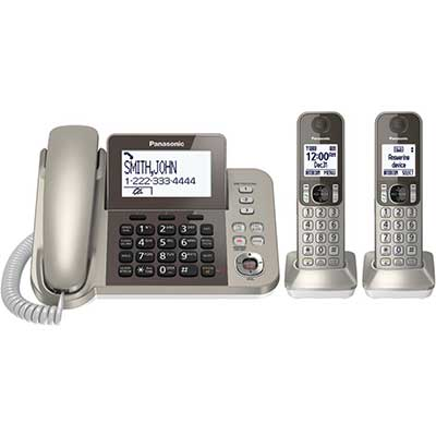 PANASONIC Corded/Cordless Phone System with Answering Machine