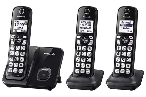 Panasonic Expandable Cordless Phone System with call Block