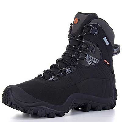 XPETI Men's Thermator Mid-Rise Waterproof Hiking Boots