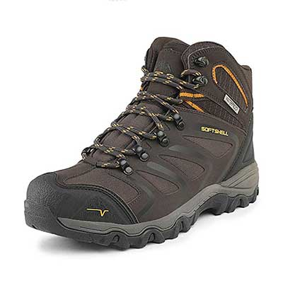 NORTIV 8 Men's Ankle High Waterproof Hiking Boot