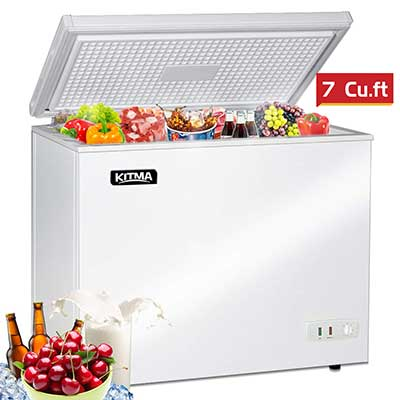 Commercial Top Chest Freezer – Kitma 7Cu Ft