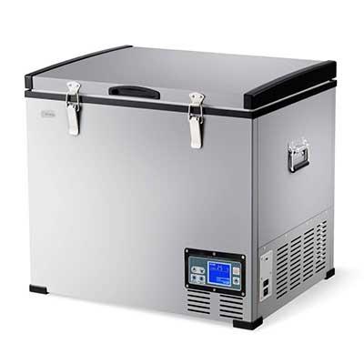 COSTWAY Chest Freezer, 63-Quart