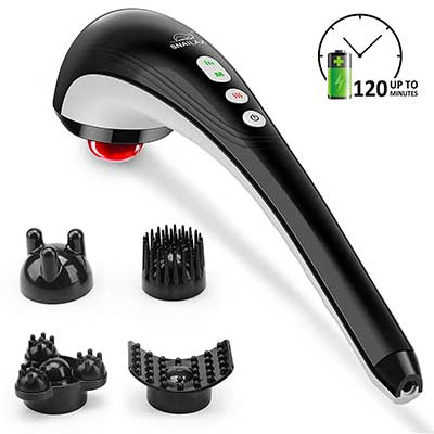 Snailax Rechargeable Handheld Back Massager