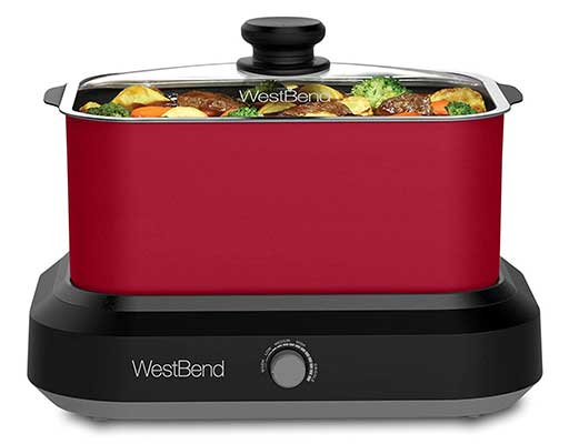 West Bend 87906R Versatility Slow Cooker