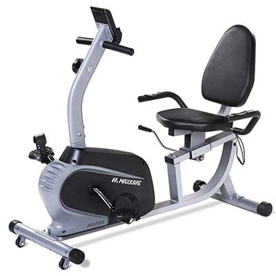MaxKare Recumbent Exercise Bike Indoor Cycling Stationary Bike