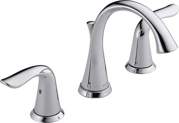 Delta Faucet Lahara 2-Handle Widespread Bathroom Faucet