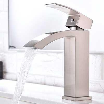 Friho Single Handle Waterfall Bathroom Sink Faucet