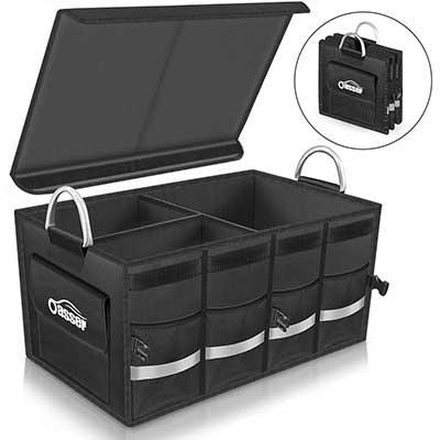 Oasser Trunk Organizer Cargo Organizer Trunk Storage