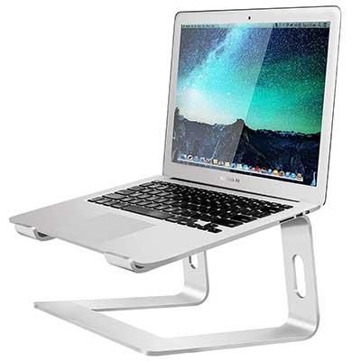 8. Soundance Laptop Stand, Aluminum Computer Riser