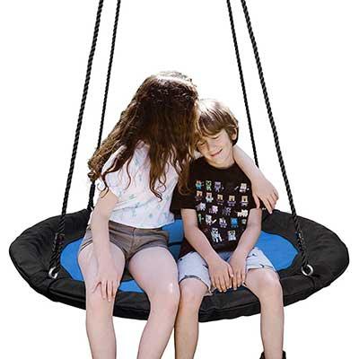 "SUPER DEAL 40"" Waterproof Saucer Tree Swing Set"