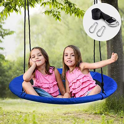 WONDERVIEW Tree Swing, Outdoor Swing