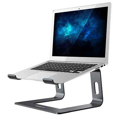 7. Nulaxy Laptop Stand, Ergonomic Laptop Computer Stand