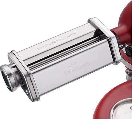 Pasta Sheet Roller Attachment for KitchenAid Stand Mixer, Pasta Maker