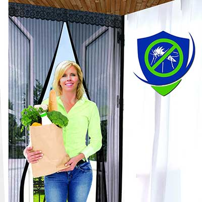 Reinforced Magnetic Screen Door – Many Sizes and Colors