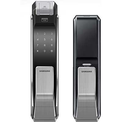 Samsung Push Pull Biometric Touchscreen Digital Door Lock