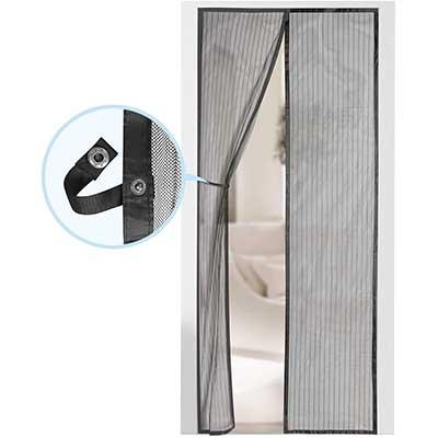 Magnetic Screen Door – Self-Sealing Heavy Duty