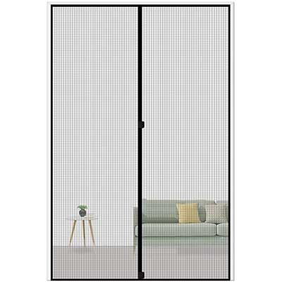 MAGZO Magnetic Screen Door 36 by 98, Reinforced Fiberglass Curtain Entry