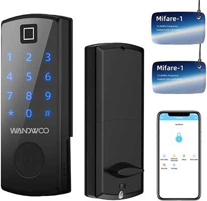 Fingerprint Lock, Wandwoo Smart Door Lock