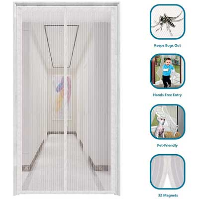 innotree 2020 Upgraded Magnetic Screen Door with 32 Magnets