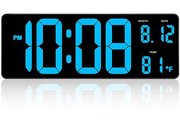 Dreamsky 14.5 Extra-Large LED Digital Clock with Date