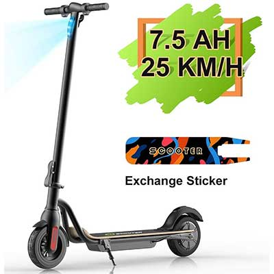 MEGA WHEELS S10 Electric Scooter Commute to Work or Ride
