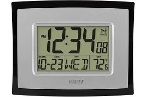 best digital wall clock reviews