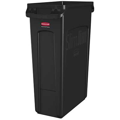 Rubbermaid Commercial Products Slim Jim Plastic Trash Can