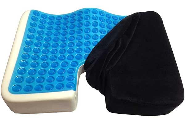 Kieba Coccyx Seat Cushion, Cool Gel Memory