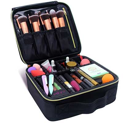 MONSTINA Makeup Train Cases for Professional Travel