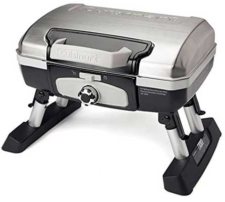 Cuisinart Petit Gourmet Portable Tabletop Gas Grill