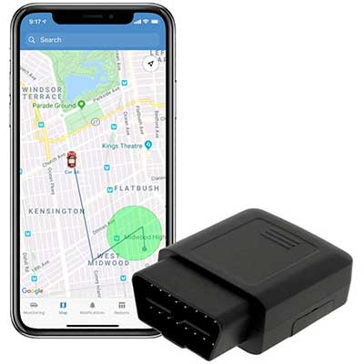 4G LTE TrackPort Plug and Play Car GPS Tracker