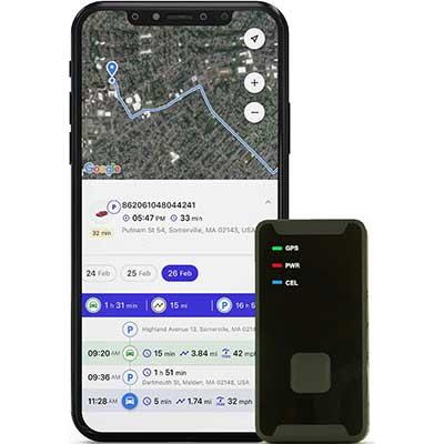 PRIMETRACKING Personal GPS Tracker - Mini, Portable