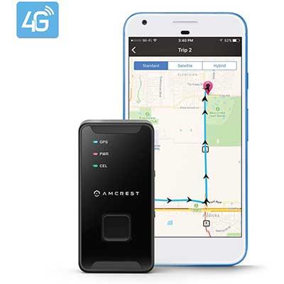 Amcrest 4G LTE GPS Tracker – Portable Mini Tracker