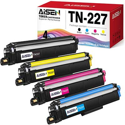 AISEN Toner Cartridges Replacement for Brother with Chip