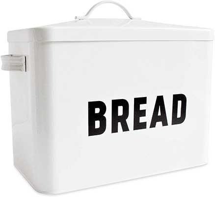 Metal Bread Box – Countertop Space- Saving