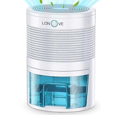 LONOVE Dehumidifier 2200 Cubic Feet